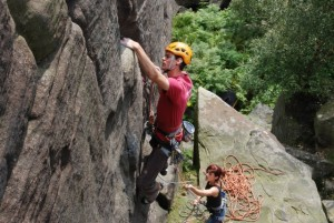 Jon Redshaw Rock Climbing Coaching in the Peak District