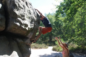 Rock Climbing Coaching, Fontainebleau, bouldering, climbing, coaching