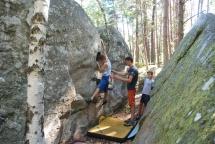 Bouldering, Font, Fontainebleau, France