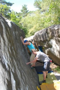 Fontainebleau, Bouldering, Rock Climbing, Coaching